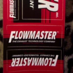 Flowmaster Other - Flowmaster Car Stickers